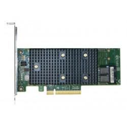 Intel RAID Controller RSP3WD080E - Řadič úložiště (RAID) - 8 Kanál - SATA 6Gb s SAS 12Gb s PCIe nízký profil - 12 Gbit s - RAID 0, 1, 5, 10, JBOD - PCIe 3.0 x8