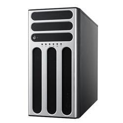 ASUS TWR server Intel C246, 4DIMM, 4 1GLAN, 4xHotSwap Bays+2M2,3PCIe+1PCI+1MIO, 500W Gold