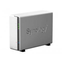 Synology Disk Station DS120J - Osobní cloudové úložné zařízení - 1 zásuvky - SATA 6Gb s - RAM 512 MB - Gigabit Ethernet - iSCSI podpora