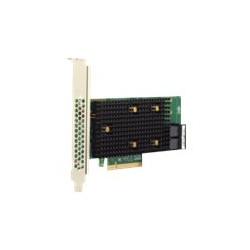 Broadcom HBA 9500-8i Tri-Mode - Řadič úložiště - 8 Kanál - SATA 6Gb s SAS 12Gb s PCIe 4.0 (NVMe) - PCIe 4.0 x8