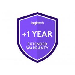 Logitech Extended Warranty - Prodloužená dohoda o službách - 1 rok - pro Logitech Swytch, Swytch Laptop Link for Video Conferencing in Meeting Rooms