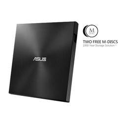 ASUS  External Slim SDRW-08U7M-U/BLACK/G/AS,  Retail, černá