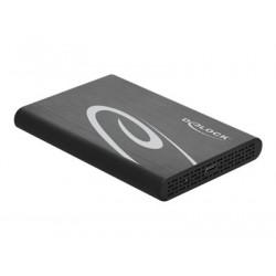 "Delock 2.5"" External Enclosure SATA HDD SSD > USB 3.0 - Kryt úložiště - 2.5"" - SATA 6Gb s - 600 MBps - USB 3.1 (Gen 2) - černá"