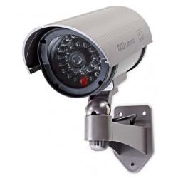 NEDIS atrapa bezpečnostní kamery s infračervenou LED bullet IP44 venkovní šedá