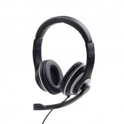 Gembird Stereo Headset MHS-03-BKWT Black