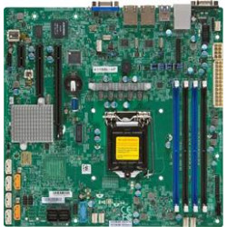 SUPERMICRO MB 1xLGA1151, iC232,DDR4,6xSATA3,PCIe 3.0 (1 x8 (in x16), 1 x4 (in x8) , 1 x1 (in x2)), 2xNVMe, IPMI