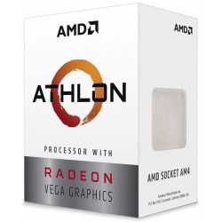 AMD Athlon 3000G / Athlon / LGA AM4 / max. 3,5GHz / 2C/4T / 5MB / 35W TDP / RX Vega 3 / BOX