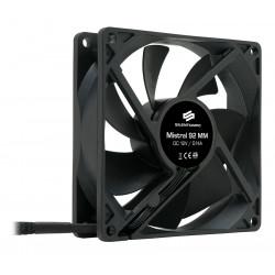 SilentiumPC přídavný ventilátor Mistral 92 92mm fan ultratichý 21 dBA