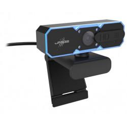 HAMA uRage gamingová webkamera REC 600 HD HD Ready 720p 16:9 podsvícená mikrofon Auto Focus USB 1,8 m černá