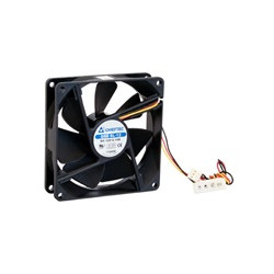 CHIEFTEC větrák AF-0925S, 92x92x25 mm Sleeve Fan, with 3 4pin connector