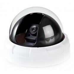 NEDIS atrapa bezpečnostní kamery s blikající LED dome vnitřní bílá