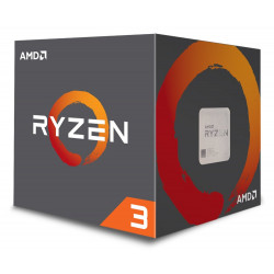 AMD Ryzen 3 1200 / Ryzen / LGA AM4 / max. 3,4 GHZ / 4C/4T / 10MB / 65W TDP / BOX with Wraith Stealth 65W