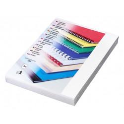 EUROSUPPLIES vazací desky (kryt) Chromo/ formát A4/ bílý/ 100 pack