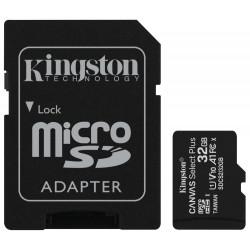 KINGSTON Canvas Select Plus 32GB microSD / UHS-I / CL10 / vč. SD adaptéru