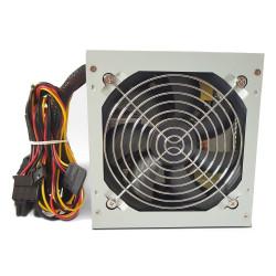 CRONO zdroj PS400P Gen2 400W 12cm fan 2x SATA druhá generace pasivní PFC retail balení 85+ Bronze šedý
