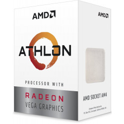 AMD Athlon 200GE / Raven Ridge / LGA AM4 / 3,2 GHz / 2C/4T / 5MB / 35W / VEGA / BOX