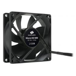 SilentiumPC přídavný ventilátor Mistral 80 80mm fan ultratichý