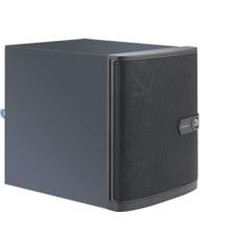"SUPERMICRO microtower server 1x LGA1151, Q170, 2x SODIMM DDR4, 4x 3.5"" HS +2x 2,5 SATA3 (5 HDD MAX),  250W (80+ Bronze)"