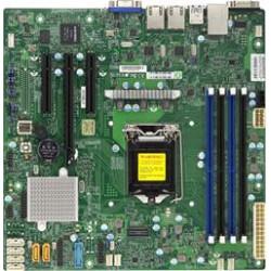 SUPERMICRO MB 1xLGA1151, iC232,DDR4,6xSATA3,PCIe 3.0 (1 x8, 1 x8 (in x16), 1 x4 (in x8)), IPMI
