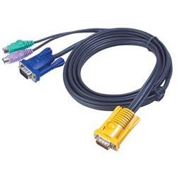 ATEN KVM sdružený kabel k CS-12xx, PS 2, 3m