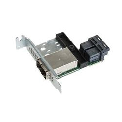 SUPERMICRO 8-port Mini SAS HD Int-to-Ext cable adapter low profile
