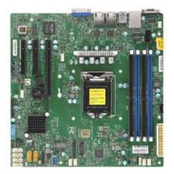 SUPERMICRO MB 1xLGA1151 (Xeon E3-21xx,i3), C242, 4xDDR4, 6xSATA3, M.2, 3xPCIe3.0 (x8, 2 x4), VGA, 2x LAN, IPMI