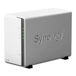Synology DiskStation DS220j, 2-bay NAS, CPU DC Armada 385, RAM 512MB, 2x USB 3.0, 1x GLAN
