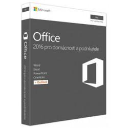 MS FPP Office 2016 pro Mac pro domácnosti a podnikatele EN P2 - bez média