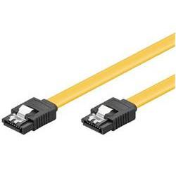 PremiumCord 0,7m SATA 3.0 datový kabel  1.5GBs / 3GBs / 6GBs, kov.západka