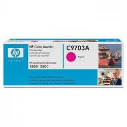 HP Color magenta, C9703A - poškození obalu E (viz. popis)