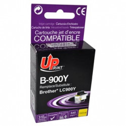 UPrint kompatibilní ink s LC-900Y, yellow, 13,5ml, B-900Y, pro Brother DCP-110C, MFC-210C, 410C, 1840C, 3240C, 5440CN