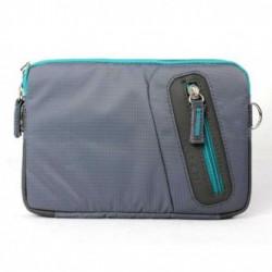 """Taška na tablet 7"""", Fashionable, šedá z polyesteru, Logo"""