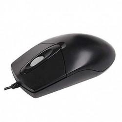 A4tech Myš OP-760 Black, 800DPI, optická, 3tl., 1 kolečko, drátová USB, černá, klasická