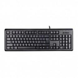A4Tech KR-92, klávesnice CZ, klasická, odolná proti polití typ drátová (USB), černá