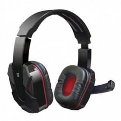 Defender Warhead G-260, sluchátka s mikrofonem, ovládání hlasitosti, černo-červená, herní sluchátka, 2x 3.5 mm jack