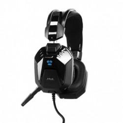 E-Blue Cobra H 948, herní sluchátka s mikrofonem, černá, 2x 3.5 mm jack