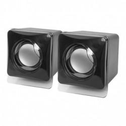 Defender reproduktory SPK-35, 2.0, 5W, černé, kompaktní velikost