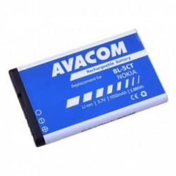 Avacom baterie pro Nokia 6303, 6730, C5, Li-Ion, 3.7V, GSNO-BL5CT-S1050A, 1050mAh, 3.9Wh