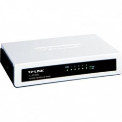 TP-LINK stolní switch TL-SF1005D 100Mbps, auto MDI MDIX