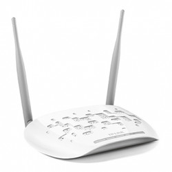 TP-LINK přístupový bod TL-WA801ND 2.4GHz, extender, PoE, 300Mbps, externí odnimatelná anténa, 802.11n, multi-SSID, klient, opakova