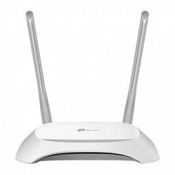 TP-LINK router TL-WR840N 2.4GHz, extender, přístupový bod, IPv6, 300Mbps, externí pevná anténa, 802.11n, VLAN, síť pro hosty, WDS