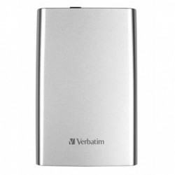 Verbatim externí pevný disk, Store N Go, 2.5, USB 3.0 (3.2 Gen 1), 1TB, 53071, stříbrný
