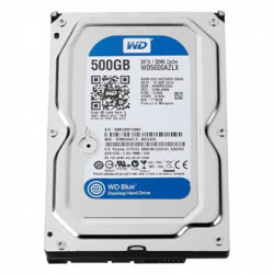 Western Digital interní pevný disk, WD Blue, 3.5, SATA III, 0,5TB, 500GB, WD5000AZLX