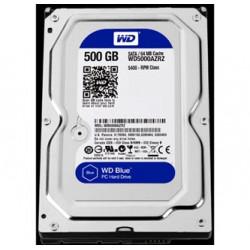 Western Digital interní pevný disk, WD Blue, 3.5, SATA III, 0,5TB, 500GB, WD5000AZRZ
