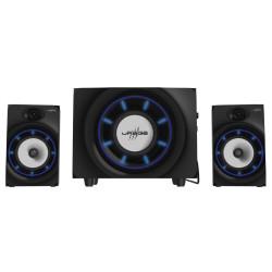 HAMA uRage gamingový sound systém SoundZ Essential 2.1 20W čtečka SD karet BlueTooth 2x CINCH USB