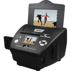 """ROLLEI skener DF-S 240 SE Negativy + Vizitky + Fotky 5Mpx 1800dpi 2,4"""" LCD SDHC USB"""