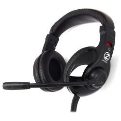Zalman headset ZM-HPS200 herní náhlavní drátový 40mm měniče 2x 3,5mm jack