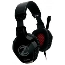 Zalman headset ZM-HPS300 herní náhlavní drátový 50mm měniče 2x 3,5mm jack