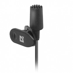 Defender, MIC-109, mikrofon, černý, handsfree