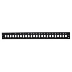 """24xSC panel pro 19"""" Optická vana černá 3400"""